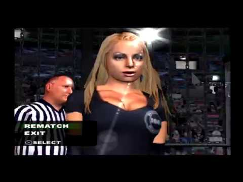 TRISH STRATUS wins the Elimination Chamber! (SMACKDOWN Difficulty) - WWE SmackDown! HCTP (PS2)