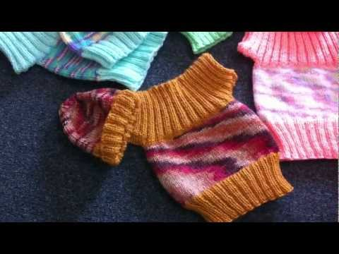 Cute Little Jumper For African Babies Knitted By Frances.MOV