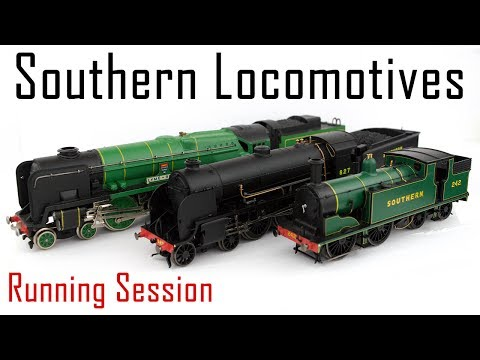 A Southern Railway Running Session