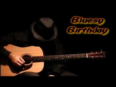 HAPPY BIRTHDAY blues - Slow Version