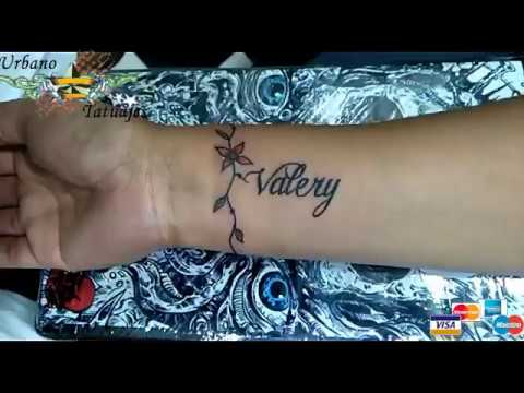 Urbano Tatuajes Pulsera Nombre Youtube