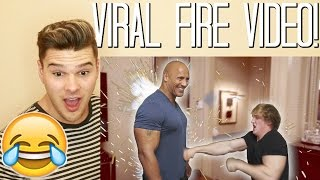THERE'S A REASON THEY CALL HIM THE ROCK! (Feat. Dwayne Johnson) REACTION!