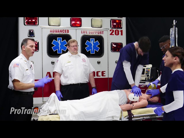 Pulseless Arrest Ventricular Fibrillation Teaching (ACLS Algorithms)