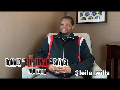 """Zulu Nation: Hip Hop's First Gay Family, Part 10 of 40, Ronald """"Bee Stinger"""" Savage"""