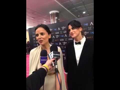Elena Anaya y Beatriz Sanchís hablan en los #Goya2015