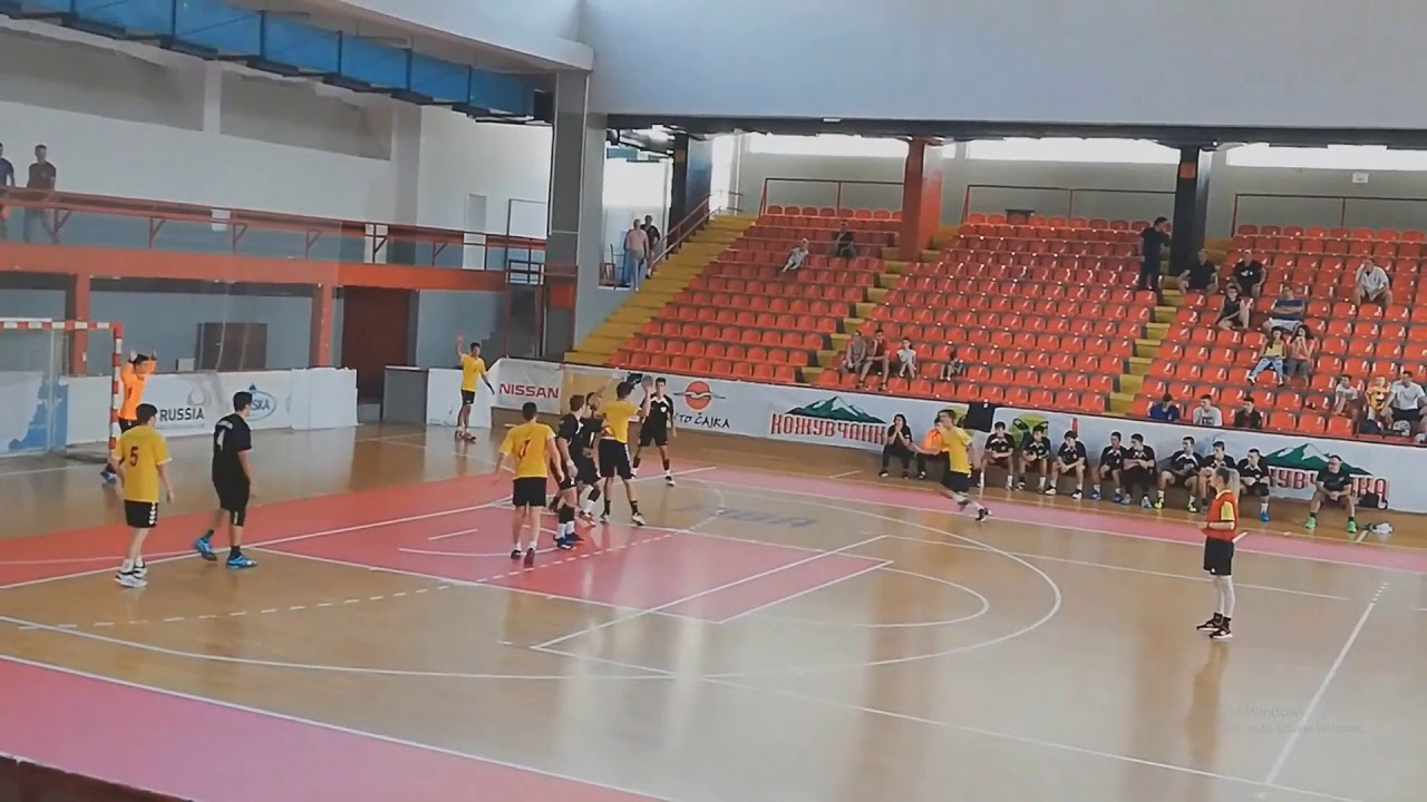 Viktor Dodevski HIghlights Handball Right Wing