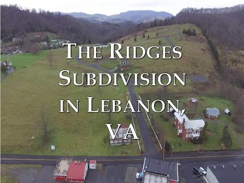 The Ridges Subdivision in Lebanon, VA