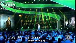 [VIETSUB] Hoắc Tôn  Gửi đến tuổi thanh xuân 霍尊青涩献唱《致青春》 新生代另类演绎深情致敬