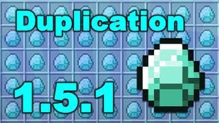 Minecraft Working Duplication - Diamonds and Rail Track in 1.5.1 !!! Thumbnail