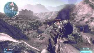 Medal Of Honor 2010: Combat Mission Attacking on Helmand Valley
