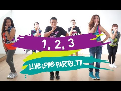 1 2 3  Sofia Reyes   Love Party  Zumba  Dance Fitness