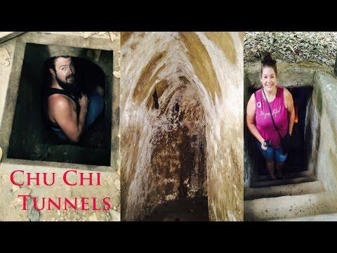 Egg shell Art and Chu Chi Tunnels - Vietnam ep 14