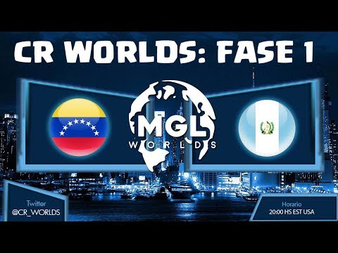 CR WORLDS: VENEZUELA VS GUATEMALA, ELIMINATORIAS | KManuS88 | Clash Royale