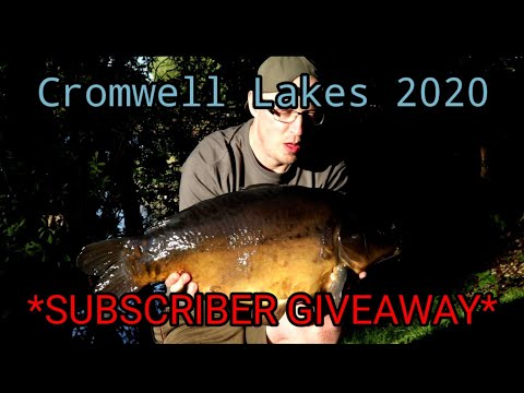 #Carp Fishing 2020 - Cromwell Lakes, Newark, Nottinghamshire. *SUBSCRIBER GIVEAWAY* & NEW PB!*