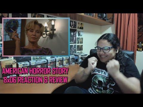 "American Horror Story: Apocalypse 8x06 REACTION & REVIEW ""Return to Murder House"" S08E06 | JuliDG"