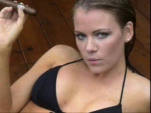 """Outlaw Cigars - Calendar Girl Katrina """"Smoking HOT  & SEXY"""""""