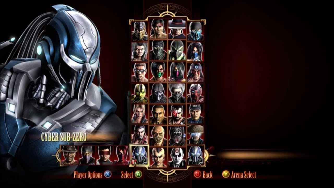 Mk 2011 dlc characters