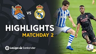 Highlights Real Sociedad vs Real Madrid (0-0)