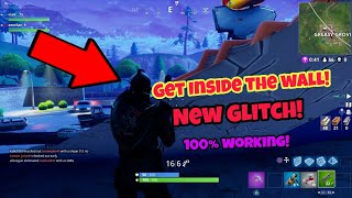 Fortnite Battle Royale Glitch (New) Get inside the wall PS4/Xbox one 2018