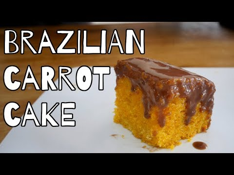 BRAZILIAN CARROT CAKE RECIPE