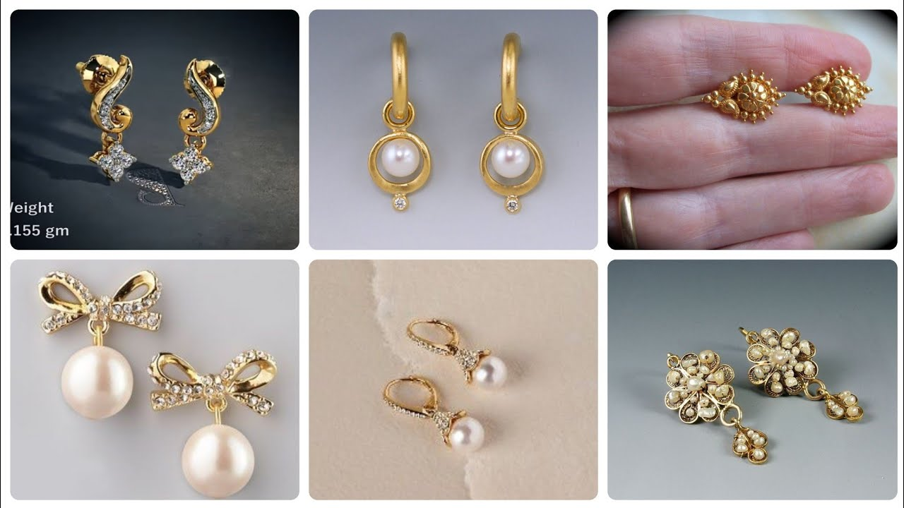 14k Gold Earrings And Stud