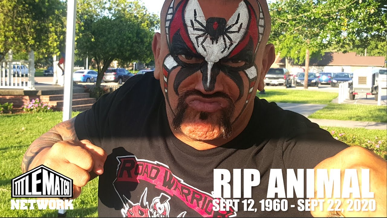 Road Warrior Animal Tribute - Unreleased Footage from Various Wrestling Conventions