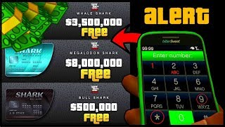 How To Get A Free $8,000,000 Shark Card In GTA 5 Online! (GTA 5 Online Money Glitch) 100% Legit 1.42