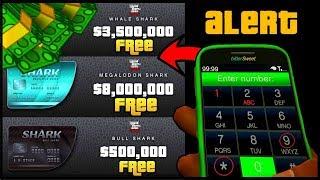 How To Get A Free $8,000,000 Shark Card In GTA 5 Online! (GTA 5 Online Money Glitch) 100% Legit 1.43