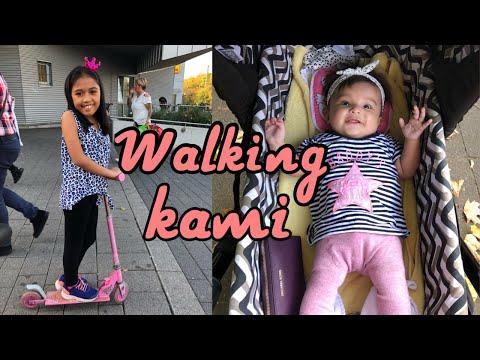 Filipina German life: WALKING TAYO + ATE ELLA LEARNING SCOOTER