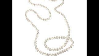 Majorica Manmade Organic Pearl Endless Necklace