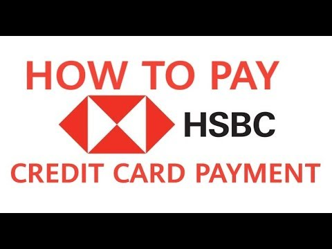 How to pay Hsbc credit card payment in 3 easy steps