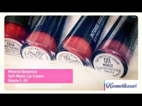 Lip Cream Mineral Botanica shade 1-20