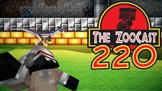 Minecraft Jurassic World (Jurassic Park) ZooCast - #220 Updates and Preparations!