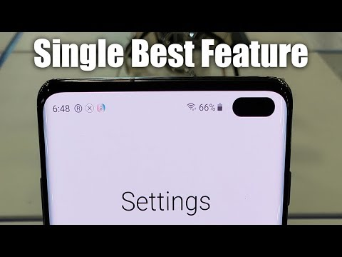 Samsung Galaxy S10 and S10 Plus: The Single Best Feature