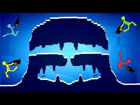 Stick Fight - BEST CUSTOM LEVELS EVER!! - Amazing NEW Level Editor Update! - Stick Fight Gameplay