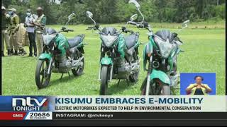 Kisumu becomes first county to embrace use of electric motorbikes