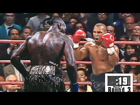 Mike Tyson versus