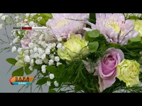 Belajar Merangkai Bunga Dan Percantik Kemasannya Youtube