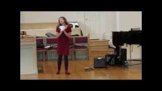 The Duchess`s Sneezing Song-Alexandra Kuniewski 2013