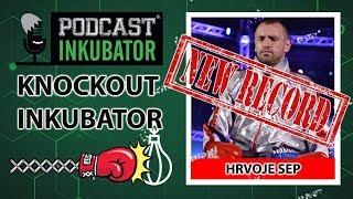 Knockout Inkubator -  NOVI REKORD | Hrvoje Sep udara krušku