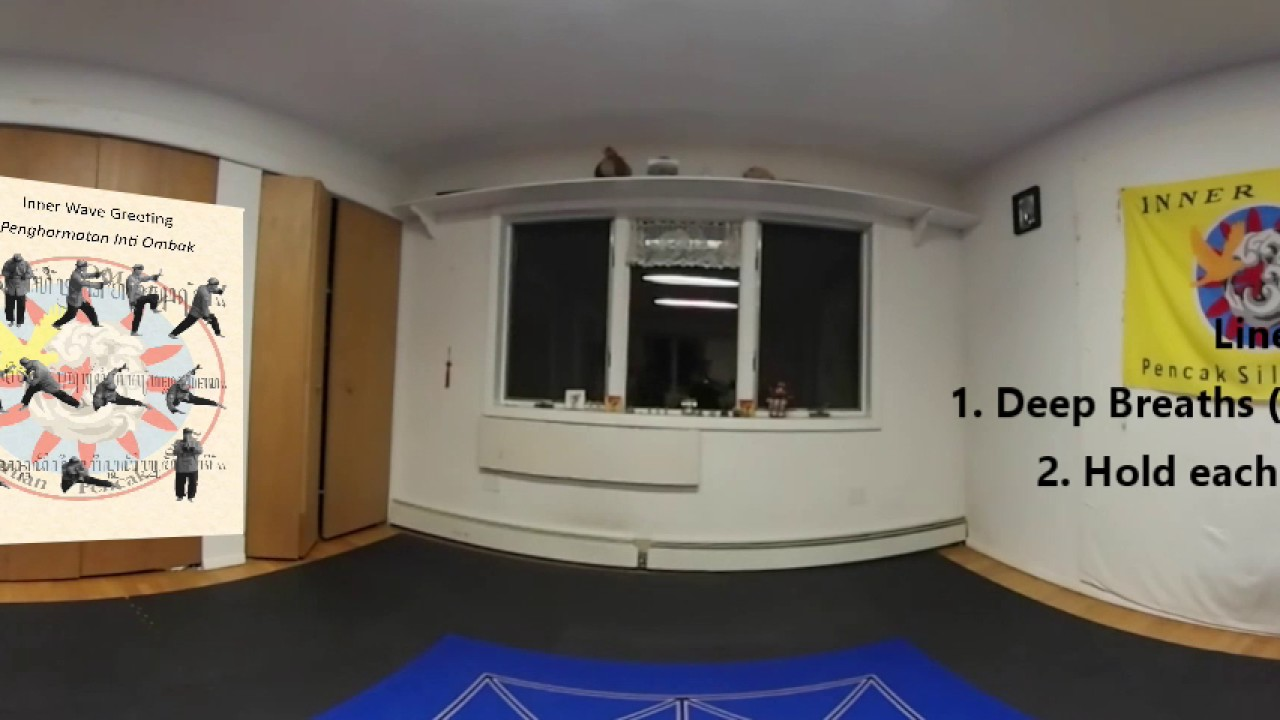 Online Vr Class 01 Greeting And Yoga Youtube