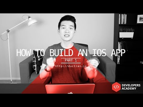 How to Make an App   Part 1   Design UI, Storyboard in Xcode, Programming wt Swift