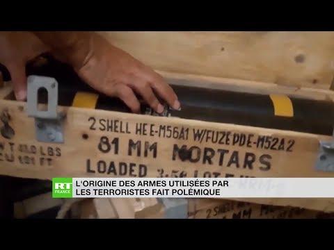 L'origine des armes utilisées par les terroristes en Syrie fait polémique