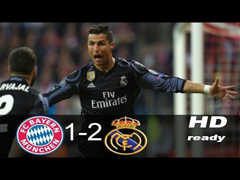 Bayern Munich 1-2 Real Madrid | HD Highlights English