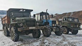 Гонки на Подьем | Трактор Беларусь, Урал и Газ 66 | Оффроуд 2020