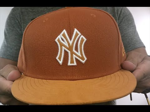 Yankees  TONAL-CHOICE  Burnt Orange Fitted Hat by New Era - YouTube 906e350e64c7