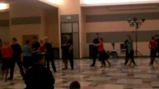 Beginning Team Sway Cha Cha performance at Salsa Dance