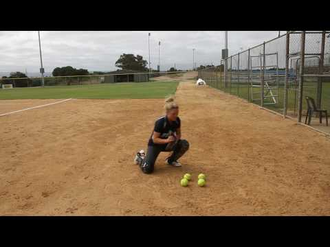 Softball Catcher Drills with Bel White - Part 1