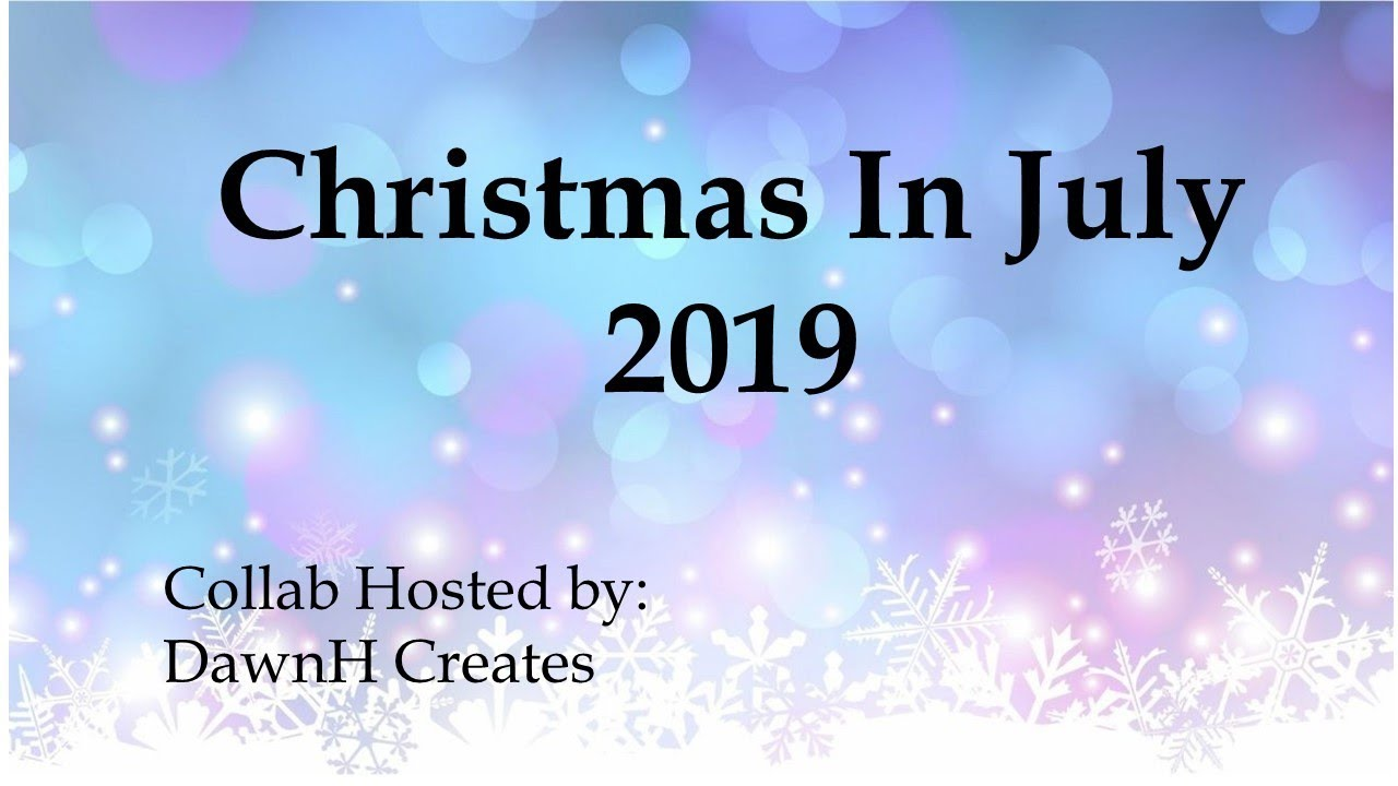 Christmas In July 2019 Images.Christmas In July 2019 Collab Week 1 Metallics