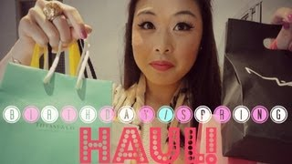 Huge Birthday/Spring Haul: Tiffany & Co., Forever 21, Essie, AE, MAC ♥ Thumbnail